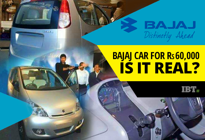 world 39 s cheapest car from bajaj for rs 60 000 is on sale in india here is the reality ibtimes. Black Bedroom Furniture Sets. Home Design Ideas