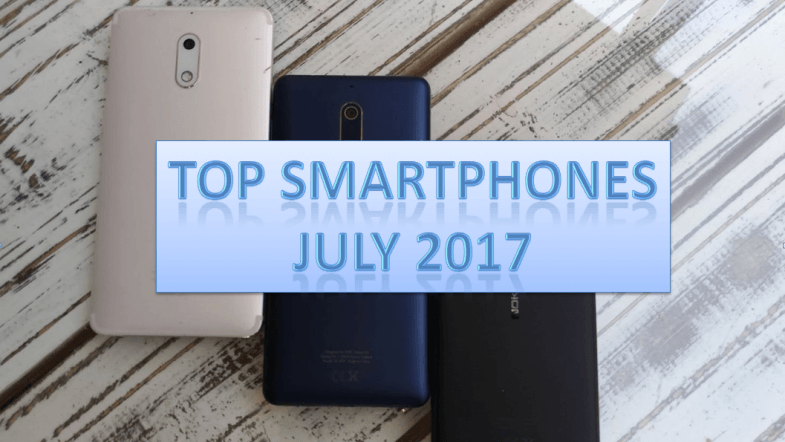 Top smartphones launched in India in July 2017