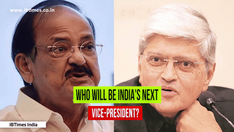 Who will be the next Vice President of India?