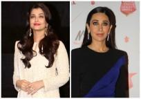 Aishwarya Rai Bachchan and Karisma Kapoor