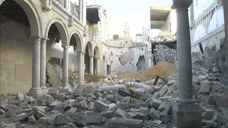 Craftsmen to help UNESCO rebuild old Aleppo