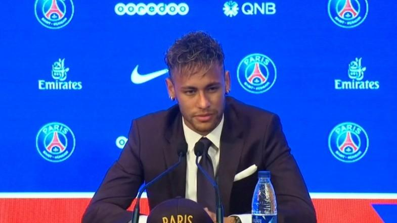 Neymar denies 222 million euro transfer was motivated by money