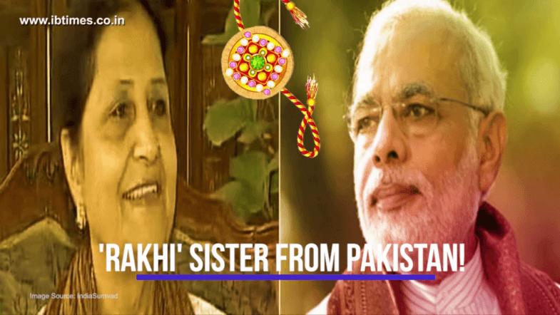 Meet Qamar Mohsin Shaikh, Narendra Modis rakhi sister
