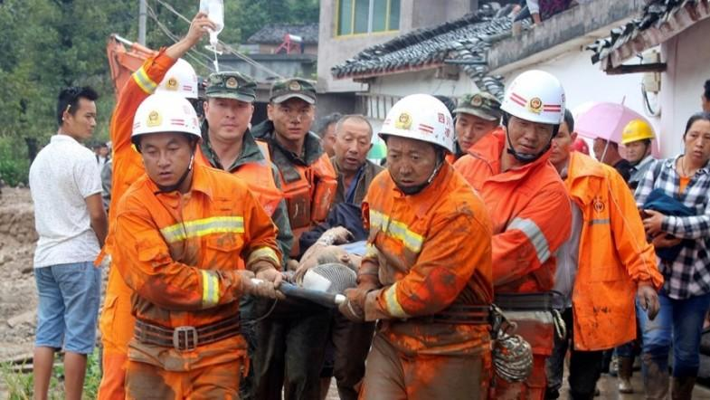 Over 20 dead as landslide hits village in Chinas Sichuan Province
