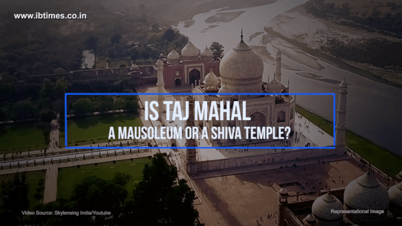 Taj Mahal a mausoleum built by Shahjahan or a Shiva temple