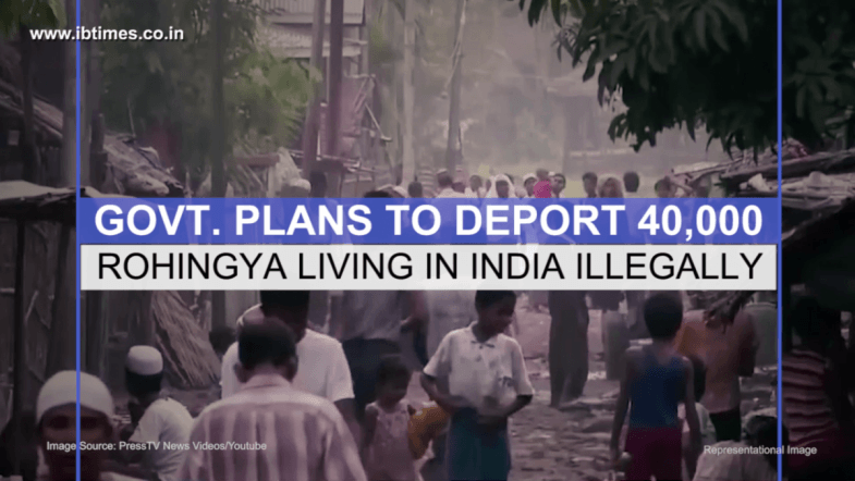 Govt  plans to deport around 40,000 Rohingya living in India