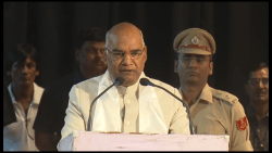 Ramn Nath Kovind swearing-in as President of India
