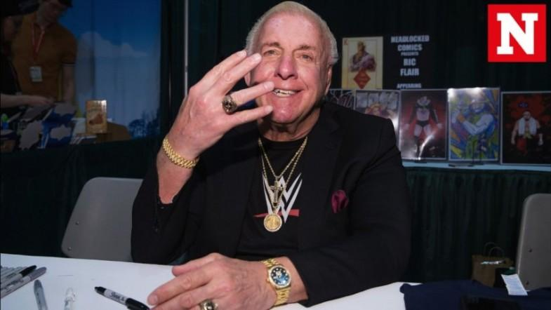 Legendary Wrestler Ric Flair Admitted To Hospital ICU