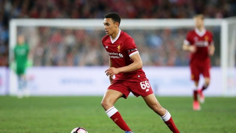 Liverpool boss Jurgen Klopp praises dead cheeky Trent Alexander-Arnold after Champions League goal