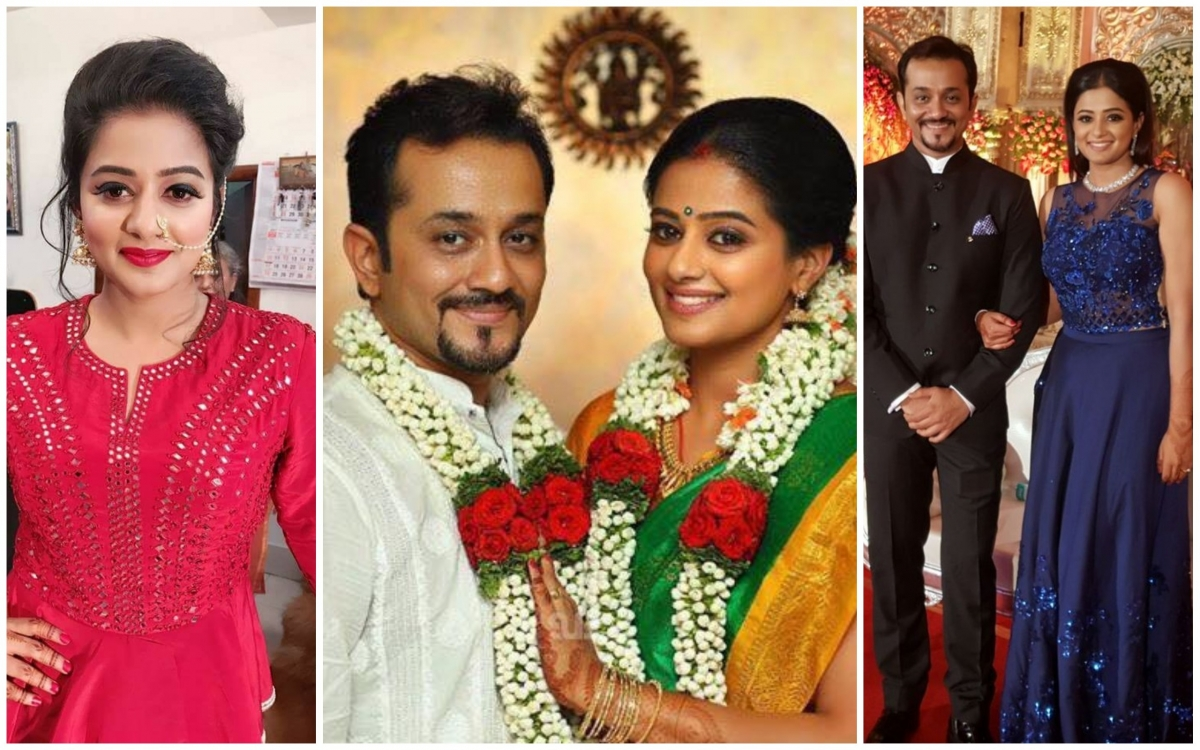 Check Photos Of Priyamani Mustafa Rajs Wedding Reception Bhavana