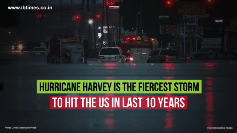 Hurricane Harvey kills 5 and leaves thousands of people stranded