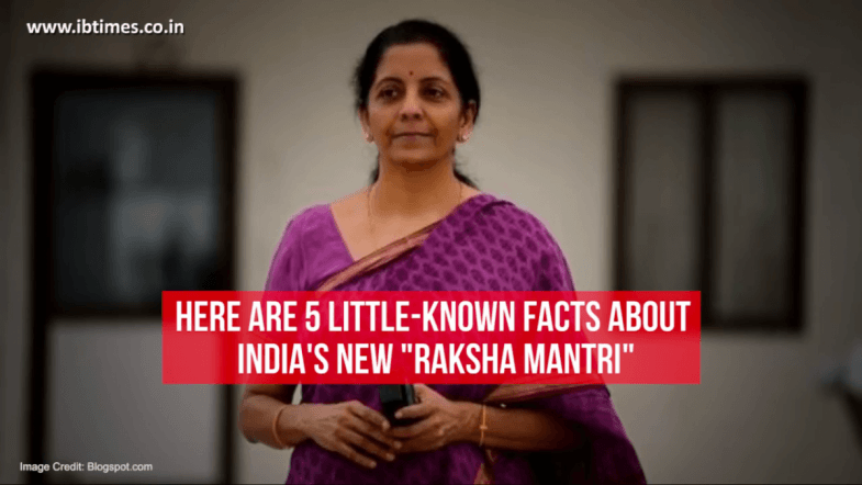5 little-known facts about Indias new Defence Minister