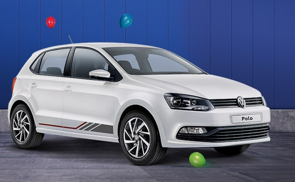 volkswagen polo ameo limited anniversary edition launched. Black Bedroom Furniture Sets. Home Design Ideas