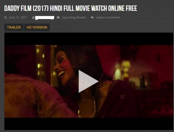 watch hindi movie daddy 2017 online free