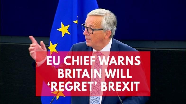 EU chief Jean-Claude Juncker warns UK will regret Brexit