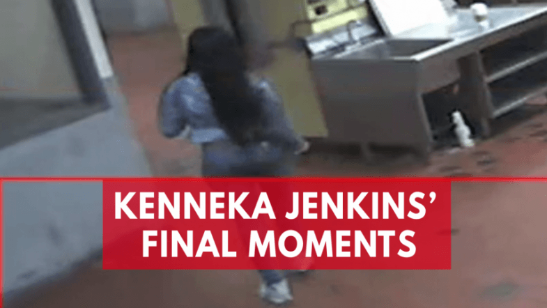 Surveillance video shows Kenneka Jenkins final moments