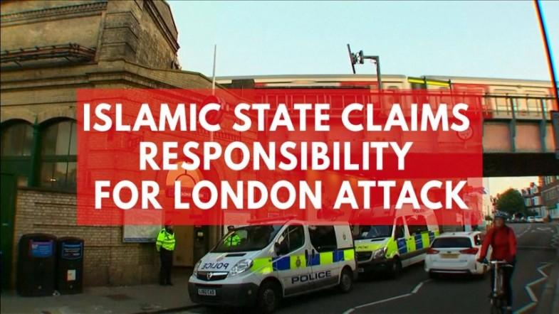 Islamic State claims responsibility for London attack