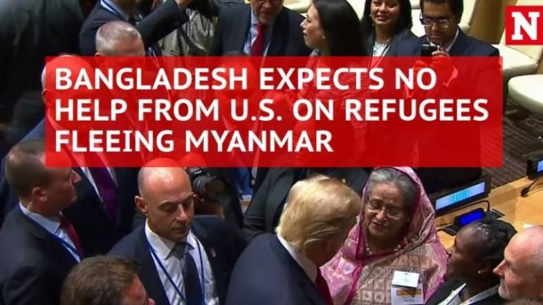 Bangladesh wont seek US help over Rohingya crisis given Trumps stance on refugees
