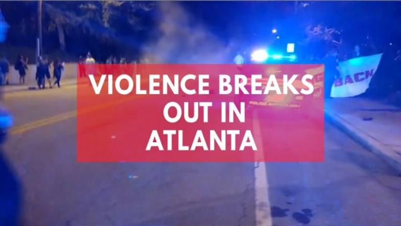 Violence breaks out in Atlanta after Georgia Tech students death