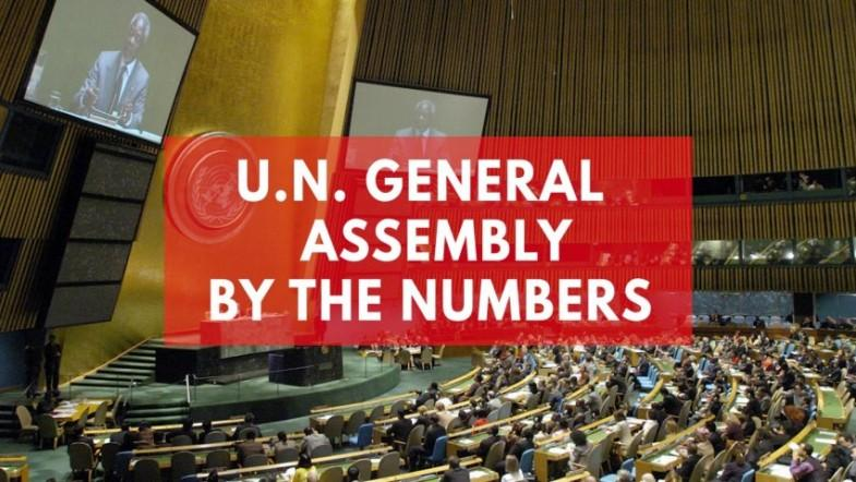 United Nations General Assembly by the numbers
