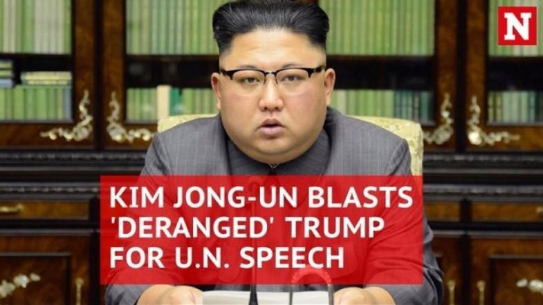 Kim Jong-un vows to make mentally deranged Trump pay dearly for UN speech