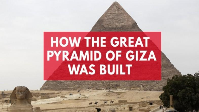 Secret of how Great Pyramid of Giza was built revealed