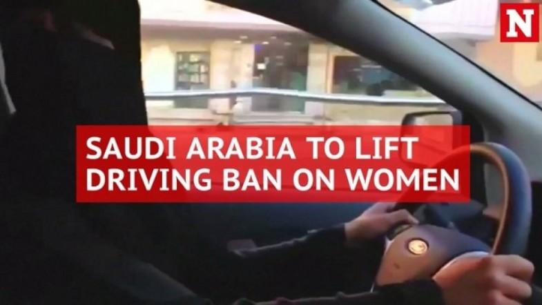 In a first, Saudi king issues decree allowing women to drive
