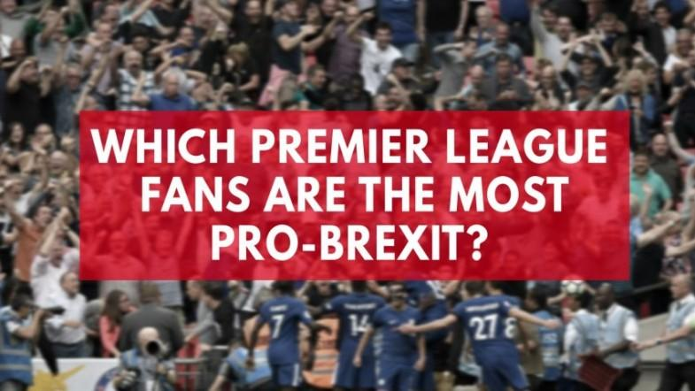 Which Premier League side has the most pro-Brexit supporters?