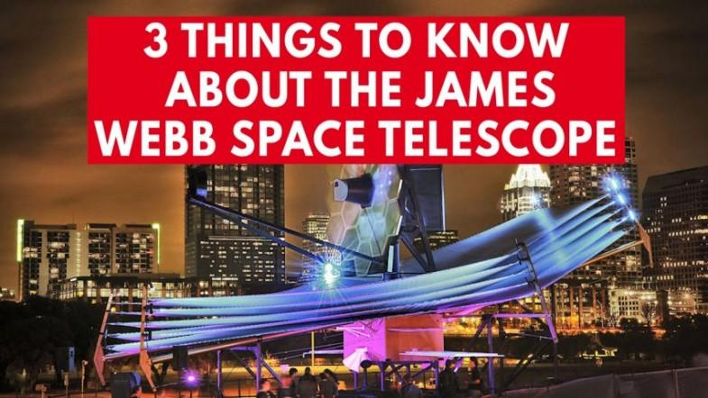 3 amazing facts about the James Webb Space Telescope