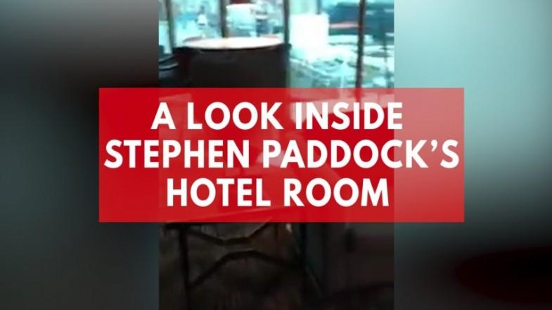 A look inside Las Vegas shooter Stephen Paddocks hotel room