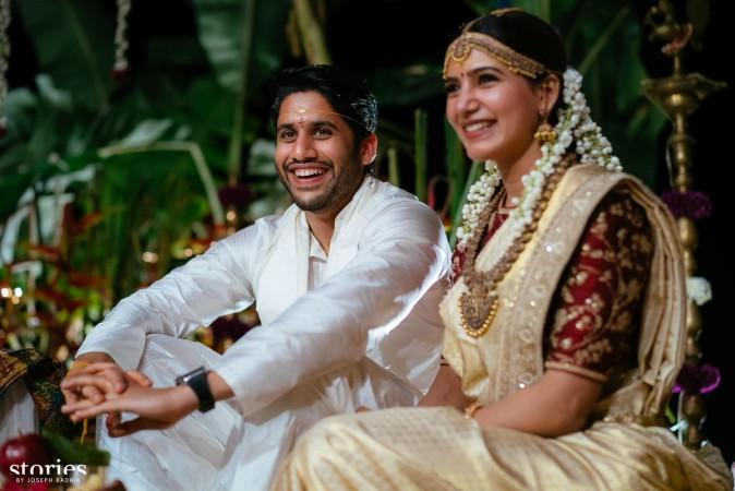 Samantha-Naga Chaitanya wedding picture