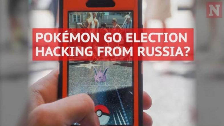 Pokémon Go used for Russian-linked election meddling?