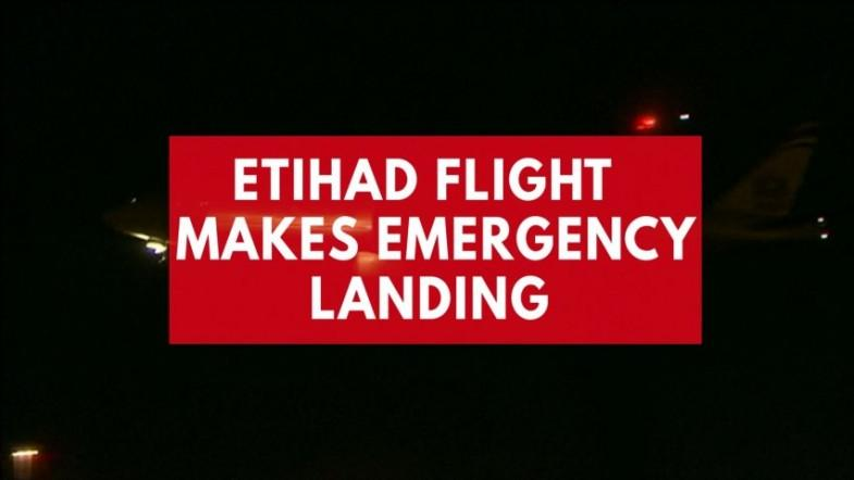 Mid-air technical snag forces Etihad flight with 349 people on board to make emergency landing