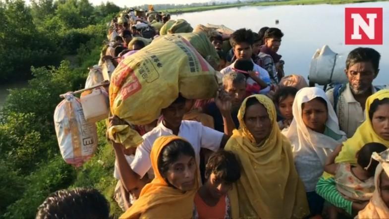 Thousands more Rohingya Muslims flee Myanmar