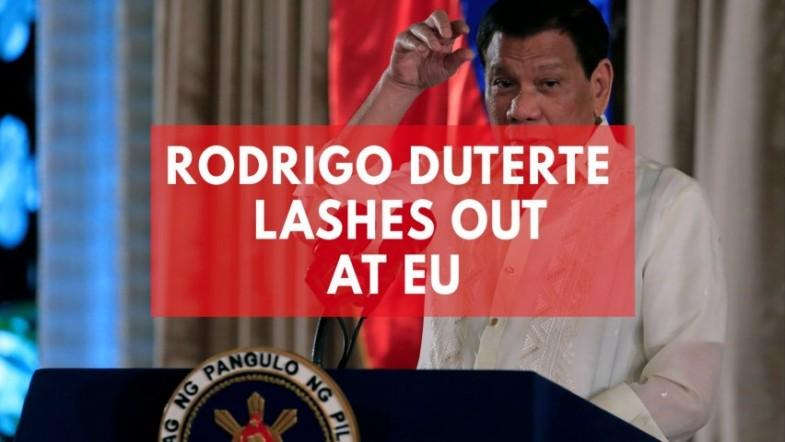 Philippines Duterte lashes out at EU on UN expulsion threat