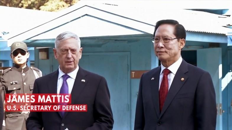Defense Secretary Mattis at Korean DMZ: Our goal is not war