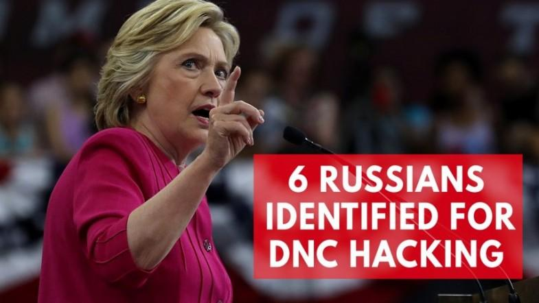 DOJ identifies 6 Russians in DNC hacking during 2016 presidential election
