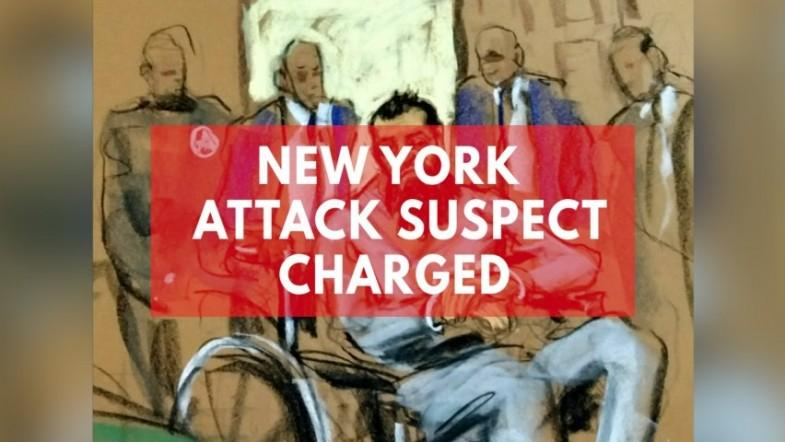 New York attack suspect Sayfullo Saipov charged in federal court
