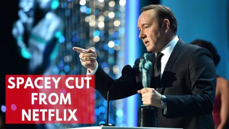 Kevin Spacey released from all Netflix productions amid sexual assault allegations