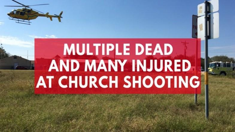 Texas church shooting leaves more than 20 dead