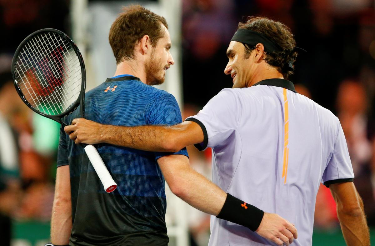Federer Murray Live