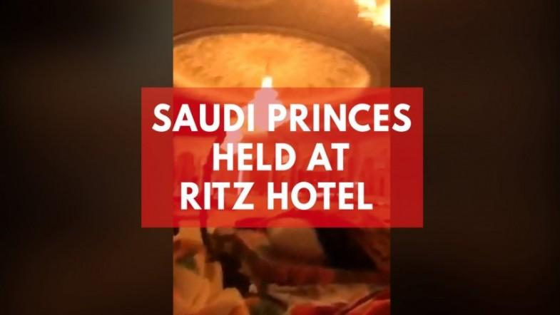 Saudi princes held at Ritz hotel in corruption crackdown