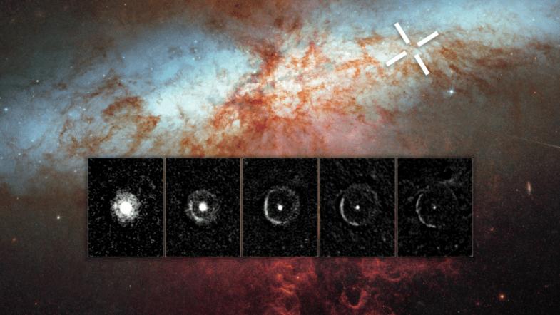 NASAs Hubble space telescope captures supernovas light echo