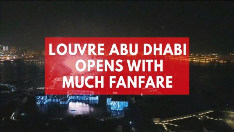 East meets west as Louvre opens in Abu Dhabi