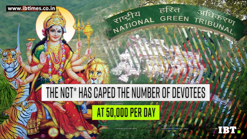 Only 50,000 devotees can visit Vaishno Devi Shrine in a day: NGT