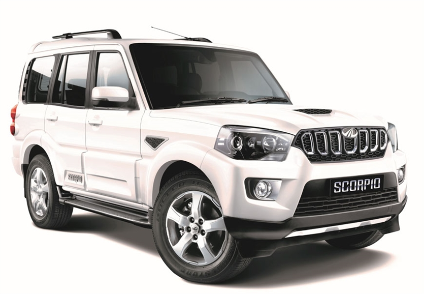 2017 Mahindra Scorpio Facelift Launched At Rs 9 97 Lakh