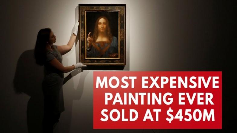 Rediscovered Leonardo da Vinci painting smashes record for any artwork sold at auction