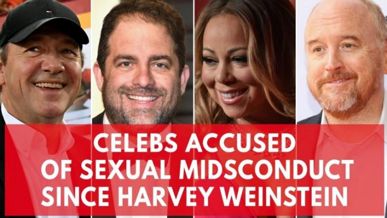 High-profile celebrities whove been accused of sexual misconduct since Harvey Weinstein