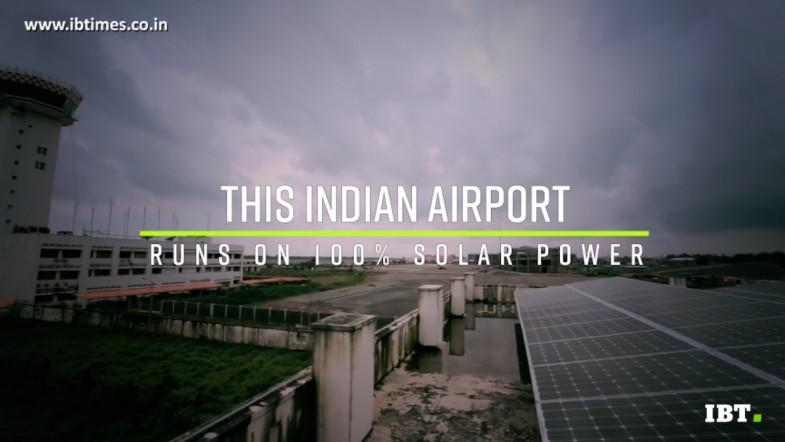 Cochin is the world's first 100% solar-powered airport