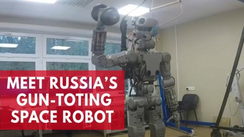 Meet Fedor, Russias gun-toting space robot, now preparing for a solo flight